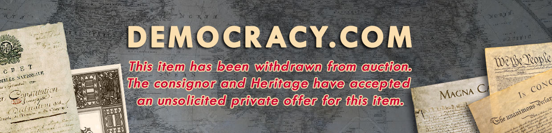 democracy.com sold